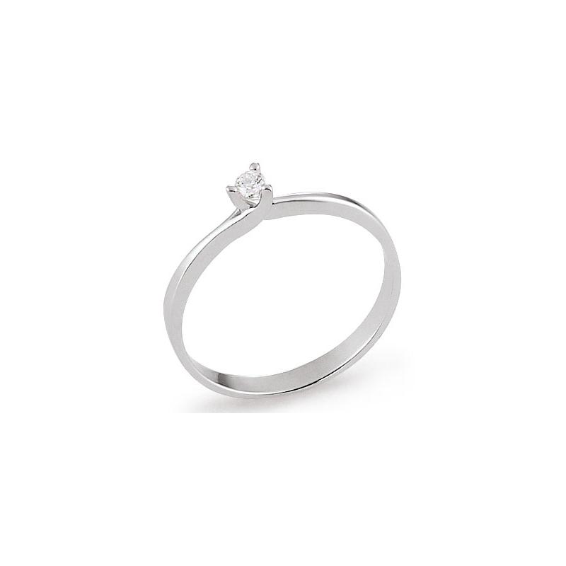 bague or 18 carats diamant