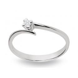 Bague diamant 4 griffes 4.