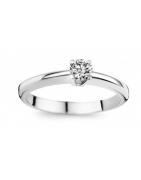 Diamant solitaire 18 ct